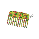 Printed Mini Purse Comb