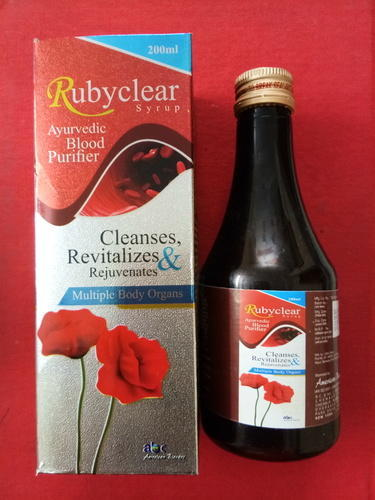 Rubyclear Syrup (Herbal Blood Purifier Syp ) - American Biocare