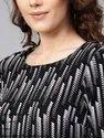 Women's Astrix Print Knitted Dress