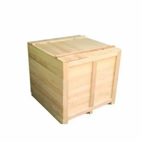 Brown Wooden Box, Capacity: 30 To 60 Kg