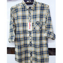 Denim Casual Checks Shirt