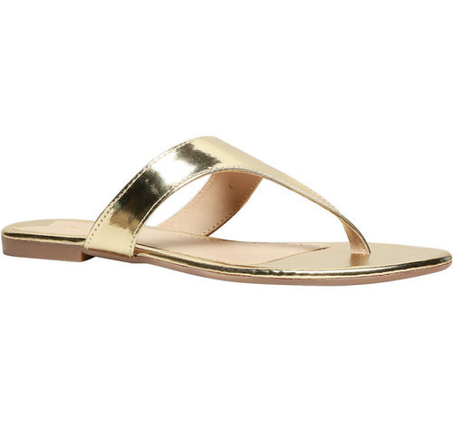 Bata Bata Flat Footbed Sandal Gold from china for sale original online best wholesale for sale free shipping explore pSlSlGeNJ9