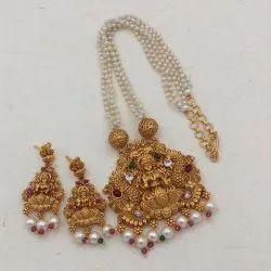 Karishma Kreations Pearl Jewellery Set - Pearl01