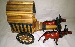 Cart Wooden Handcrafted