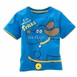 Blue Base Kids Cotton T-Shirt