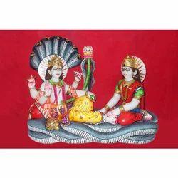 Marble Vishnu Laxmi Shyash Saiya