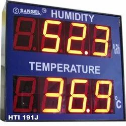 4 Jumbo Humidity & Temperature Indicator