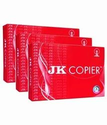 White JK A4 Size Copier Paper, Packaging Size: 500 Sheets per pack