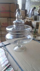 Glass Apothecary Vase Large