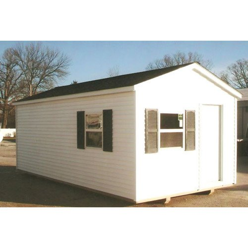 FRP White Prefabricated Guest House
