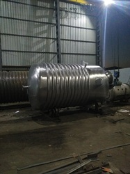 S.S Limpet Chemical Pressure Vessel, Capacity: 0-20 L