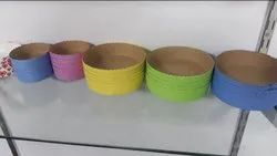 Colored Biodegradable Cake Mould