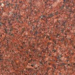 Flamed Imperial Red Granite Slab, For Countertops, Thickness: 25 mm