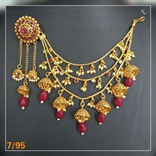Gold Bahubali Earring