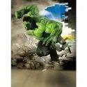 Mpro-tech Kids Room Hulk Pvc Vinyl Wall Stickers
