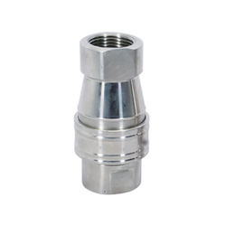 Single Check Valve Quick Release Coupling