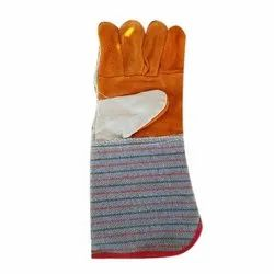 Fabric Safety Gloves Safety Color Hand Gloves, Size: Free Size