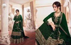 Embroidery Nitya Vol 149 By Lt Bridal Salwar Suit