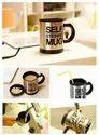 Stainless Steel & Plastic Self Mug