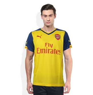 get cheap 96537 de65b Puma Yellow Arsenal T Shirt