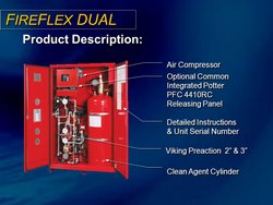 SEVO Carbon Steel Fire Flex: Integrated Pre-Action Fire Suppression System, For Industrial