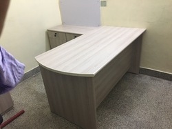 L Shape Executive Table
