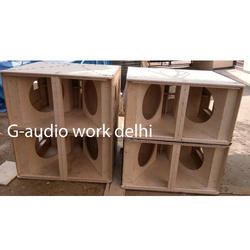 SRX 728 Dual Bass Empty Cabinet