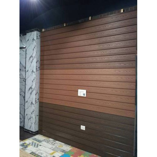 Brown Wood Exterior Wall Cladding Tile