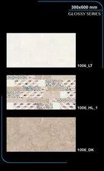 Wall glossy tiles