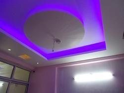 Gypsum False Ceiling Work