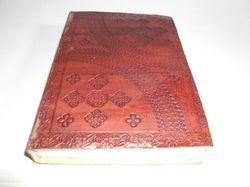 Embossed Designer Handmade Leather Journal