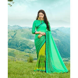 Bamberg Georgette Printed Saree