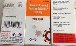 TERAVIR 300MG TAB (TENOFOVIR DISOPROXIL FUMARATE)