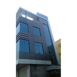 Designer Aluminium Structural Glazing, Dimension/Size: 8x4 feet