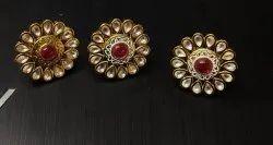 Mint Meena Earring