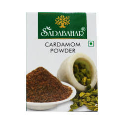 Sadabahar Cardamom Powder, 10g, Packaging: Packet