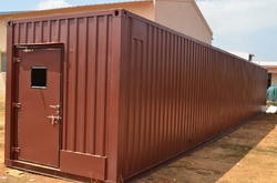 Prefabricated Bunk Site Office