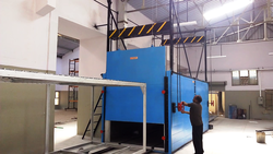 Diesel Fired Powder Curing Oven