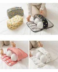 Swastik Handicraft Bra Panty Lingerie Travel Bag Organizer
