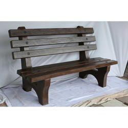 Precast RCC Wood Bench