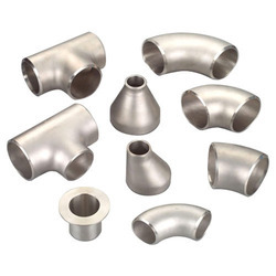 Nascent Stainless Steel Buttweld Fittings 304, Usage: Gas Pipe