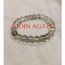 Smokey Quartz Bracelet, For Healing, Size: 8mm Round Beads