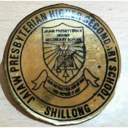 Laminate Brass Badge