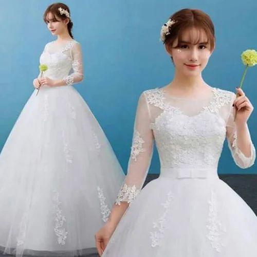 Wedding Gown at Rs 16000 /set   शादी के गाउन - Bellas ...