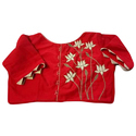 Ladies Red Casual Blouse