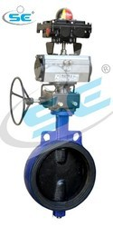 Pneumatic Operated Butterfly Valve