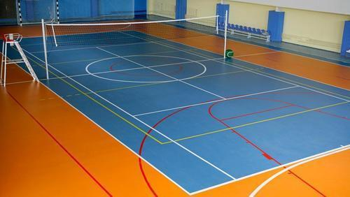 Indoor Volleyball Court Rs 130 Square Feet Pr Sports