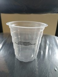 Transparent Conical Biodegradable Cups, Size: 50ml