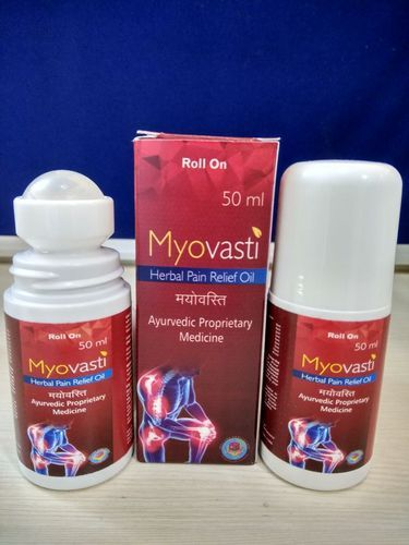 Mayovasti (Herbal Pain Relief Oil 50 ml with Roll on Bottle)