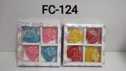 Floating Candles Heart (set Of 4)